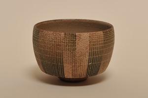 加藤 一郎/布目金彩茶碗