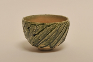 鈴木 徹/緑釉茶碗